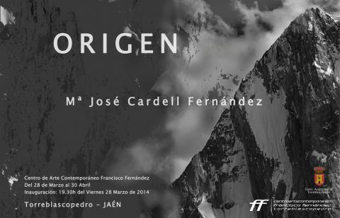 Invitación exposición temporal Origen